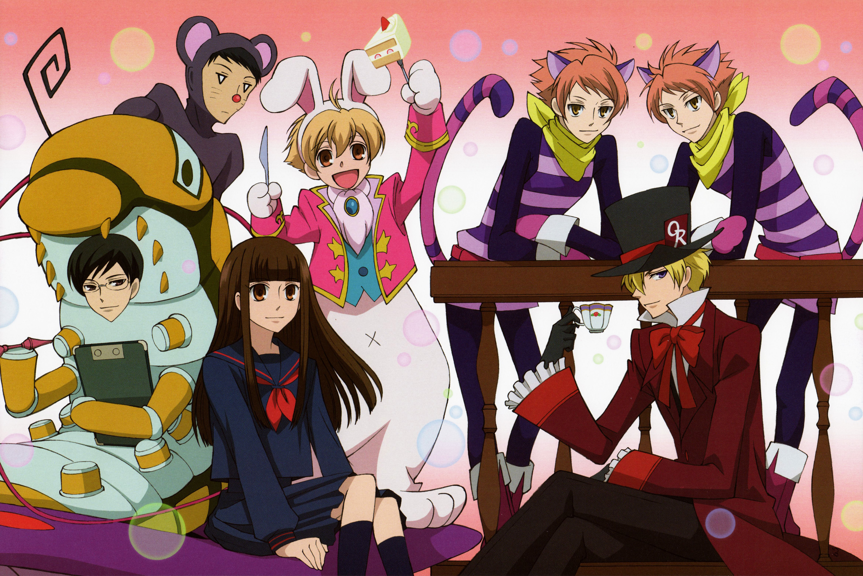 Honorable mention ouran high school host club enlarge 3000px
