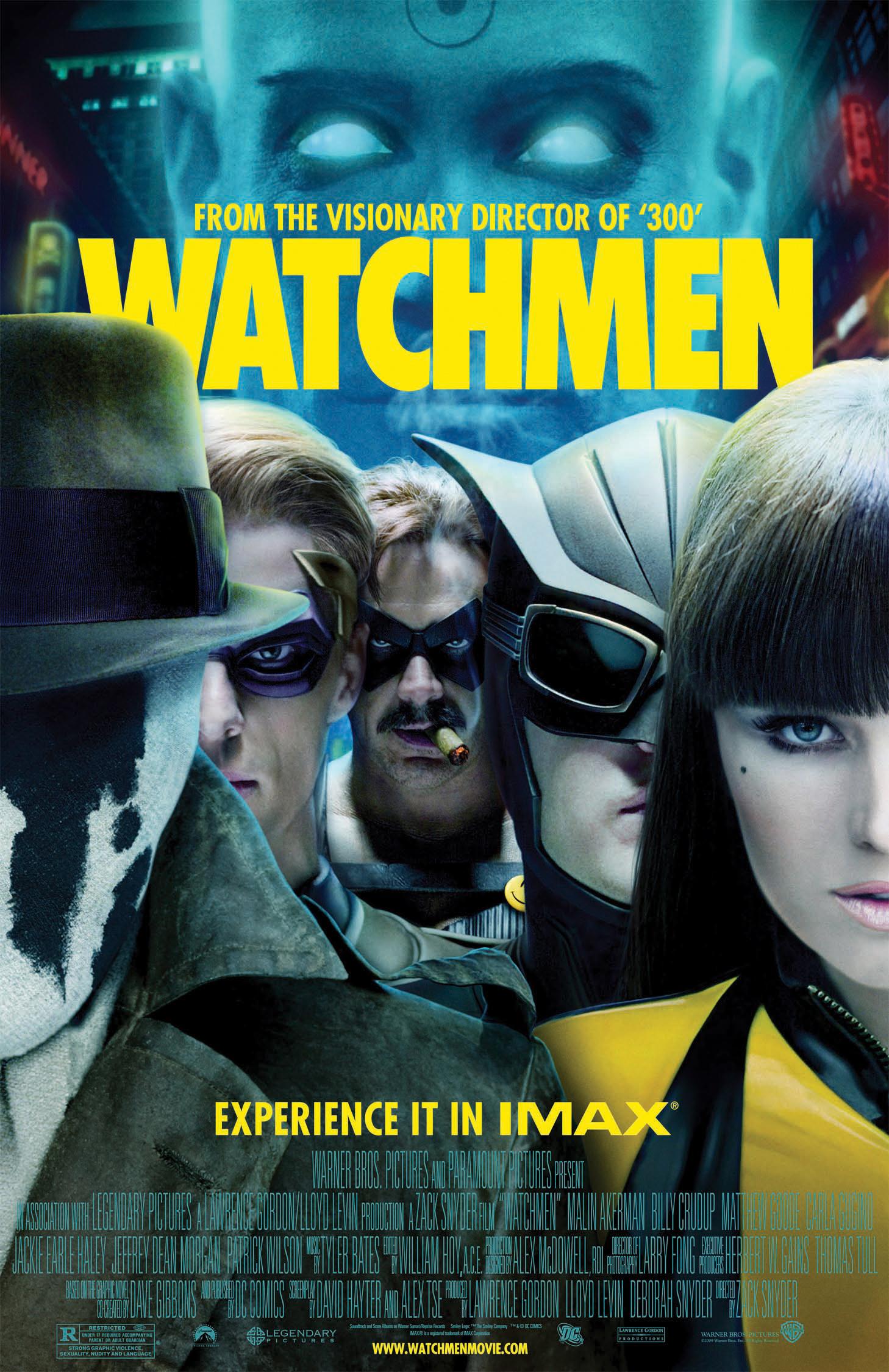 «Watchmen». Última pel·lícula d'«Altravia». Cicle de cinema alternatiu (26-11-09)