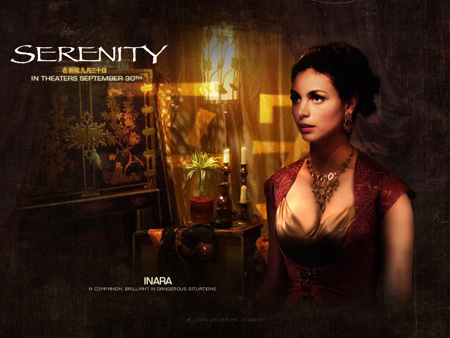 Morena Baccarin as Inara Serra | Serenity (2005)