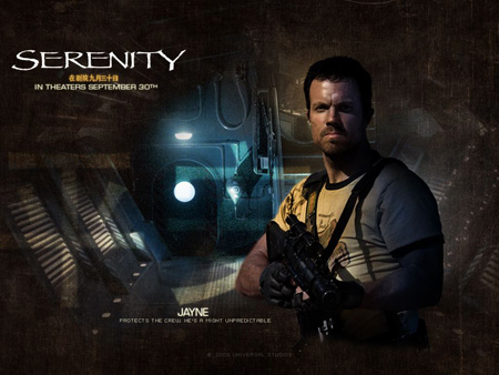 Adam Baldwin as Jayne Cobb | Serenity (2005)