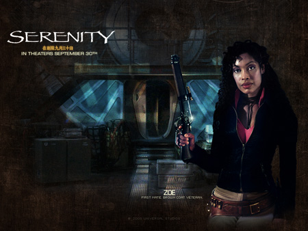 Gina Torres as Zoe Alleyne Washburne | Serenity (2005)