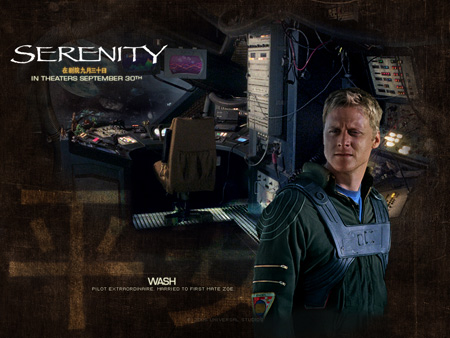 Alan Tudyk as Hoban Washburne | Serenity (2005)