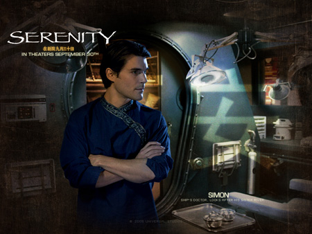 Sean Maher as Dr. Simon Tam | Serenity (2005)