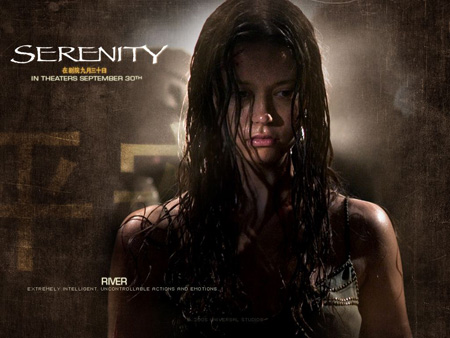 Summer Glau as River Tam | Serenity (2005)